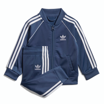 Adidas Adidas Kids Superstar Track Suit Night Marine/White