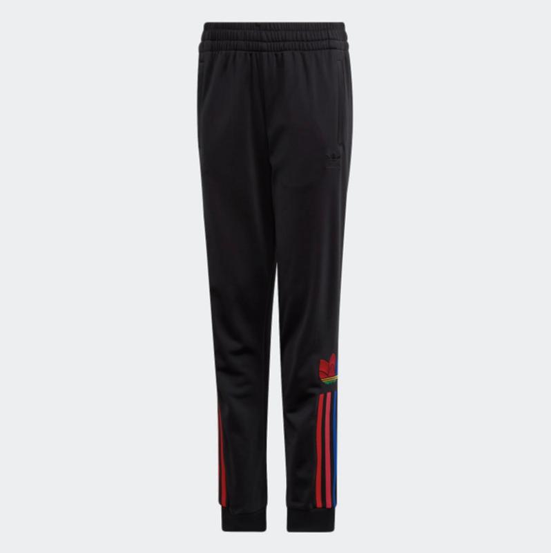 Adidas Adidas Kids Adicolor 3D Trefoil Track Pants Black/Multicolor GD2696