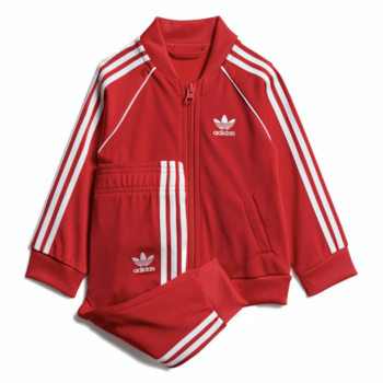 Adidas Adidas Kids Superstar Track Suit 'Red/White' GD2631