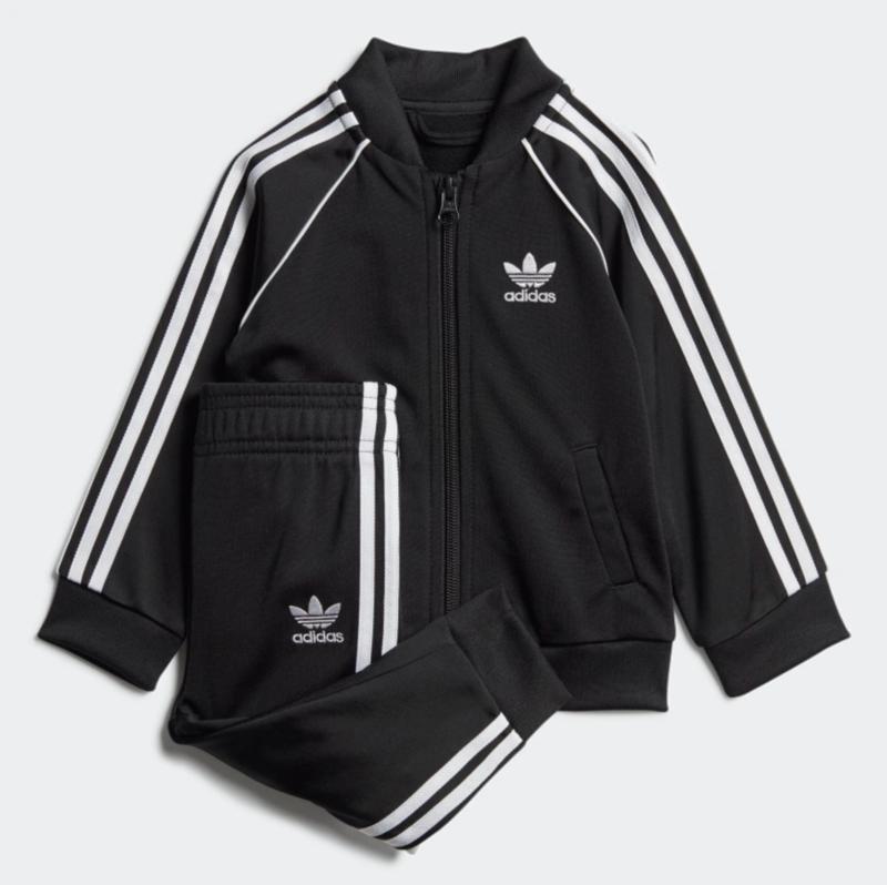 Adidas Adidas Kids Superstar Track Suit 'Black/White' GD2625