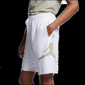 Air Jordan Air Jordan Mens Jumpman Fleece Shorts 'White' AQ3115 101