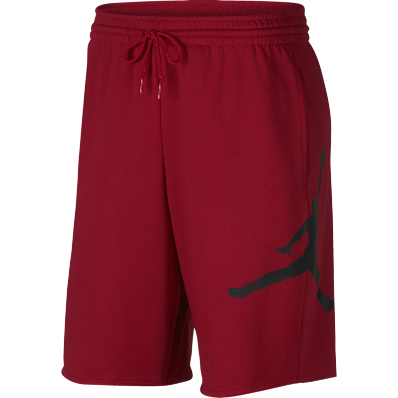 Air Jordan Air Jordan Mens Jumpman Fleece Shorts 'Red' AQ3115 687