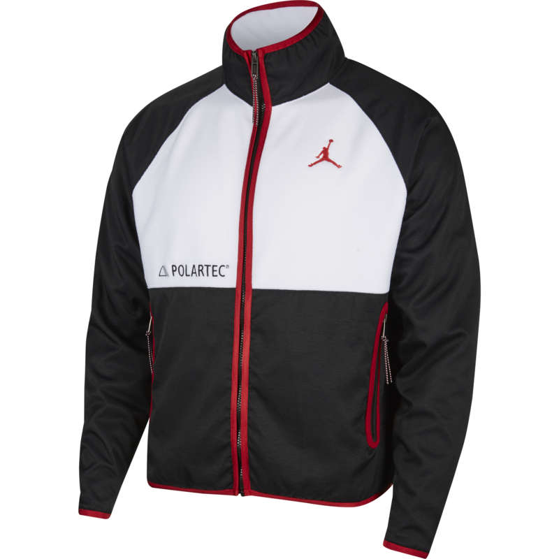 Air Jordan Air Jordan Mens Polartec Fleece Zip Up CU1492 010