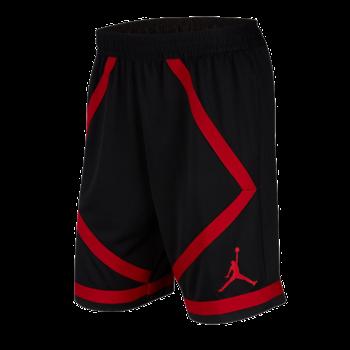 Air Jordan Air Jordan Mens Dri-FIT Taped Basketball Shorts 'Red/Black AJ1116 010