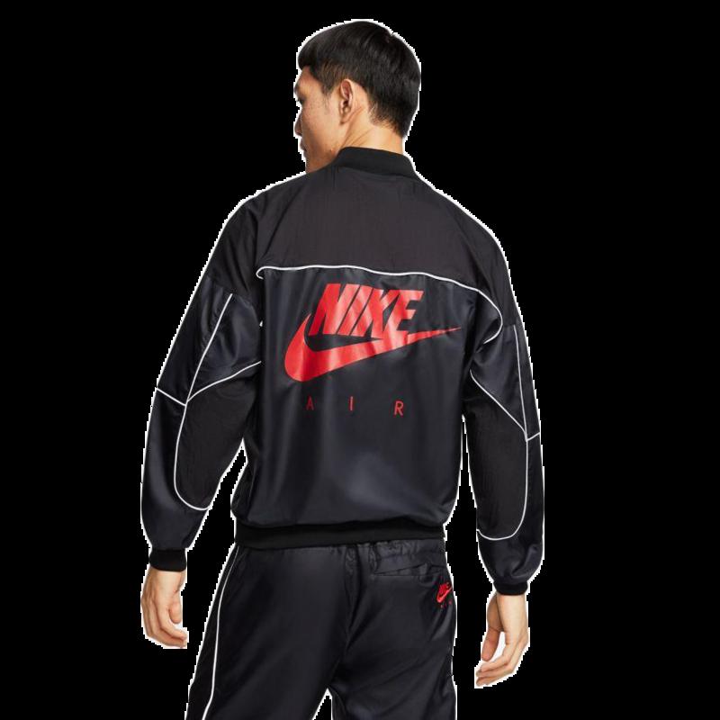 Air Jordan Air Jordan Mens 3M Logo Zip-Up Track Jacket 'Black' CU1666 010