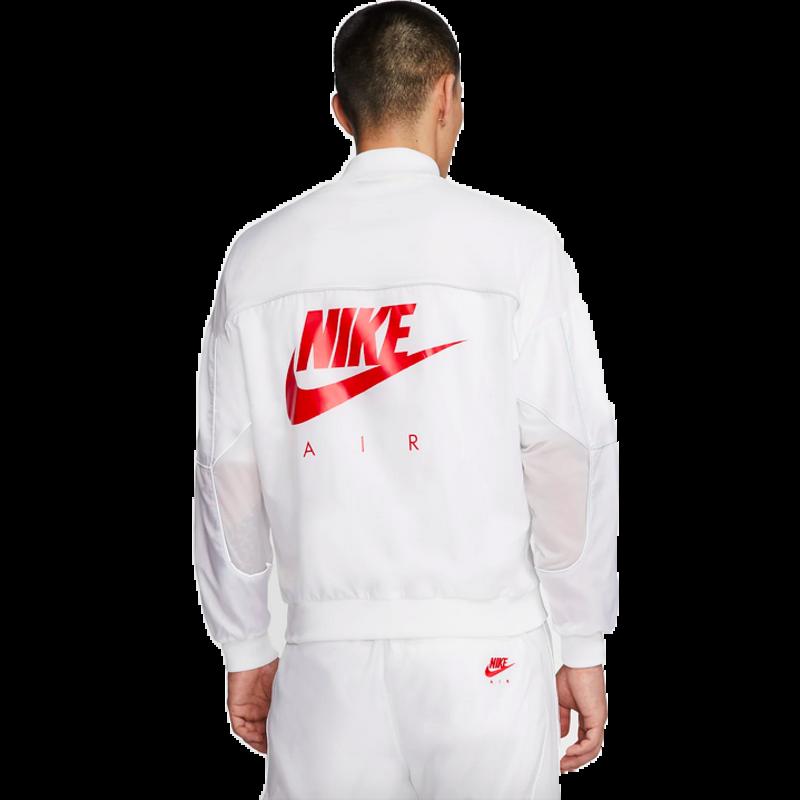 Air Jordan Air Jordan Mens 3M Logo Zip-Up Track Jacket 'White' CU1666 100