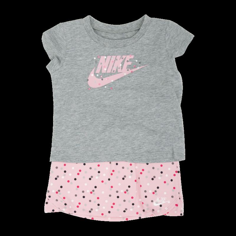 Nike Nike Girls 2 Piece Set Grey/Light Pink  G173 A8F