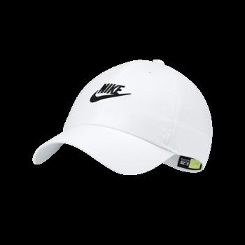 Nike Nike Futura Washed H86 White Cap 913011 100
