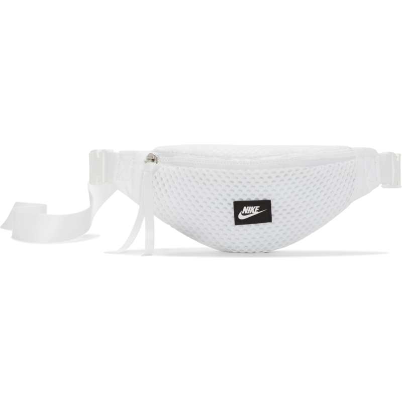 "Nike Nike Air Waist Bag Mesh ""White/Black"" CU2609 100"
