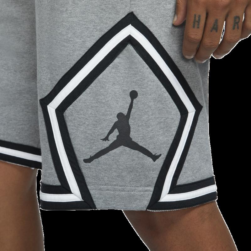 Air Jordan Air Jordan Retro 5 'Fire Red' Grey Shorts CV7317 091