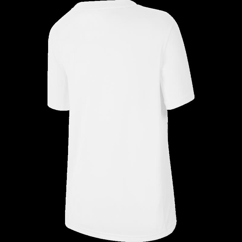 Nike Nike Kids DrI-Fit Triaining Tee White/Blue CJ7736 101