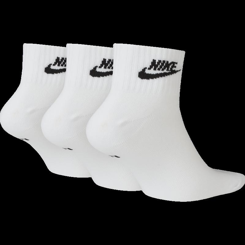 Nike Nike Ankle Sock Essential 'White/Black' SK0110 101
