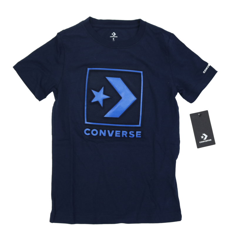 Converse Kids Old School Embossed Logo Navy 96 9700