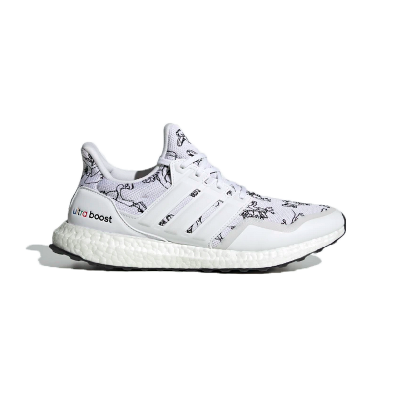 Adidas Adidas Men's Ultraboost DNA x Disney Cloud White/Cloud White/Blue FV6049