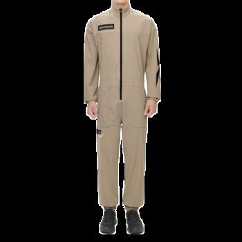 Reebok Reebok Men's Sauna Jumpsuit Beige GM1770