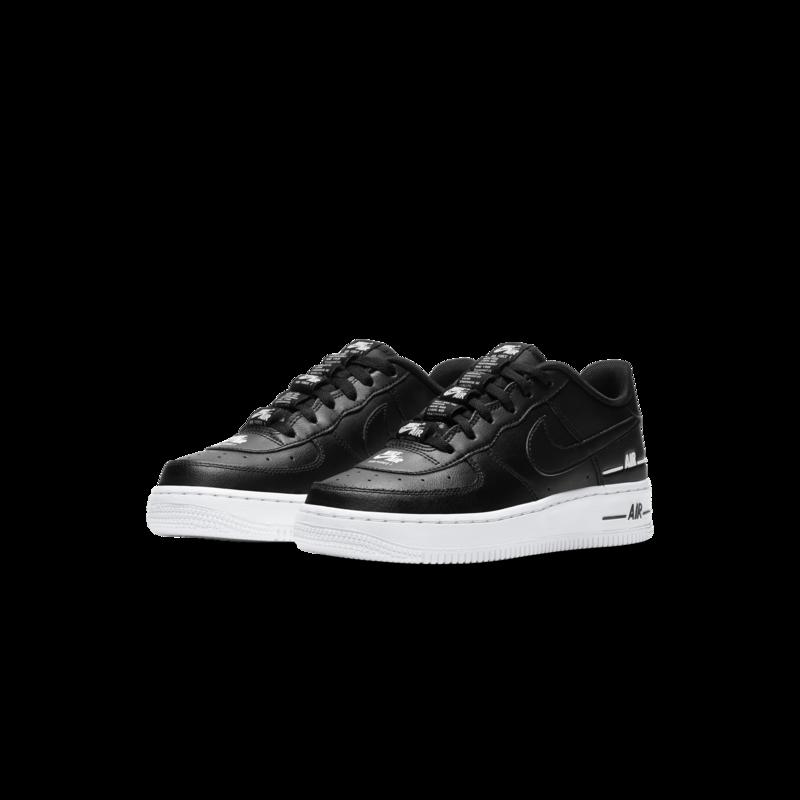 Nike Nike Air Force 1 LV8 3 'Trademark' GS Black CJ4092 001