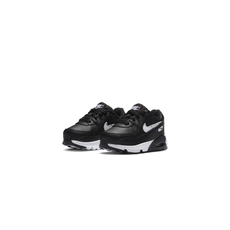 Nike Nike Air Max 90 LTR Toddler 'Black/White' CD6868 010