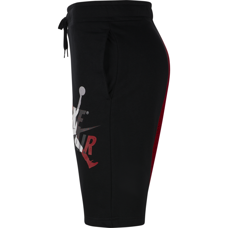 Air Jordan Air Jordan Men's Jumpman Classics Fleece Shorts Black/Red CK2854 010