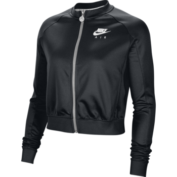 Nike Nike Women's Air Tape Logo Track Jacket Black/White CJ3132 010