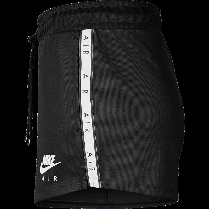 Nike Nike Women's Air Tape Logo Track Shorts Black/White CJ3134 010