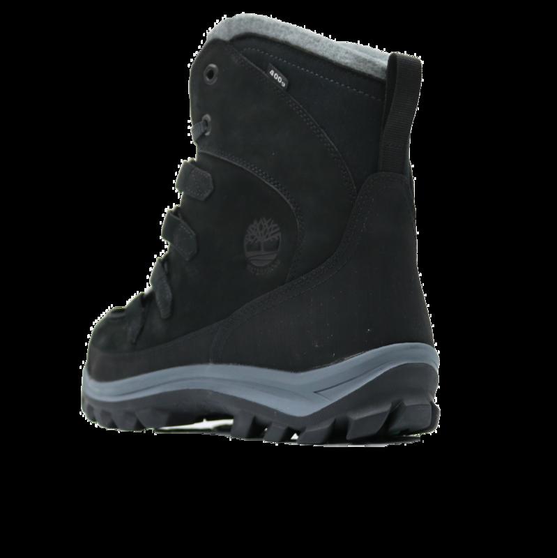 TIMBERLAND Timberland Men's Chillberg Premium Insulated Boot Nubuck Black 0A17V1 001