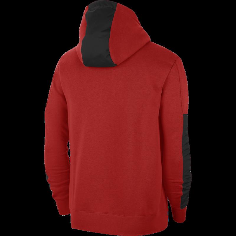 Nike Nike Air Men's Sportswear Fleece Hoodie Pullover Red/Black CU4139 657