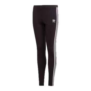 Adidas Adidas Women's Solid Leggins Sparkle White/Black GD2849