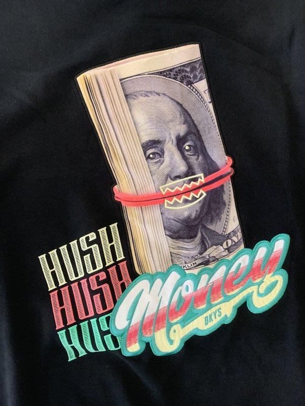 BKYS BKYS 'Hush Money' Crewneck Black