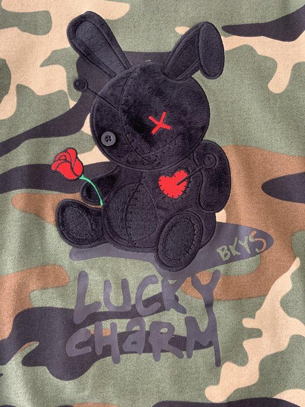 BKYS BKYS 'Bunny' Crewneck Camo/Black