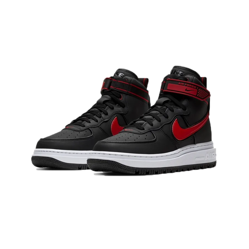 Nike Nike Men's Air Force 1 Boot Black/University Red-White DA0418 002