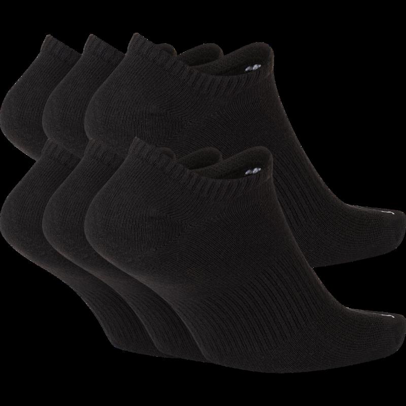Nike Nike Dri-Fit Everyday Plus Lightwegiht No Show Sock Black/White SX6900 010