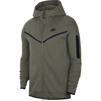 Nike Nike Men's Sportswear Tech Fleece Hoodie Olive CU4489 380
