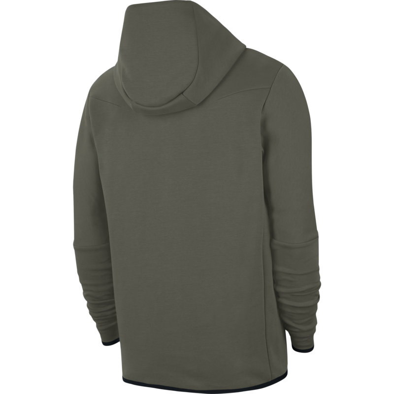Nike Nike Men's Sportswear Tech Fleece Hoodie Olive CU5589 380