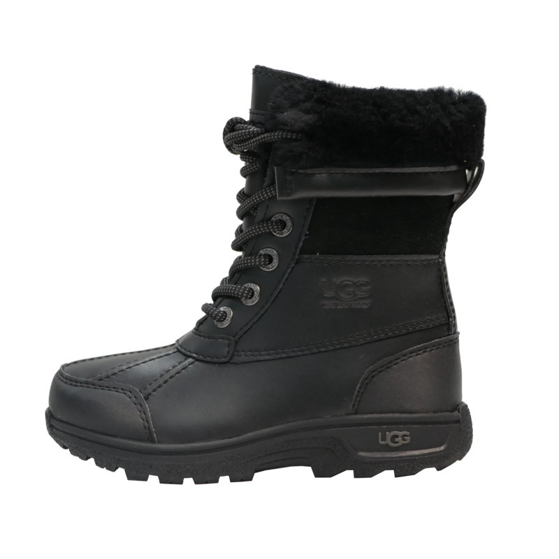 UGG Ugg Butte II CWR Boot - Black  (1098890K) Big Kids