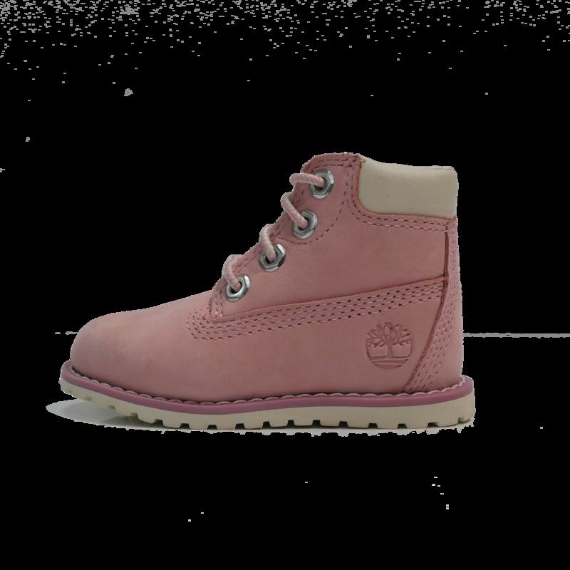 """TIMBERLAND Timberland Pokey Pine 6"""" Side Zip Boot - Light Pink Nubuck- TB0A27EG V20"""