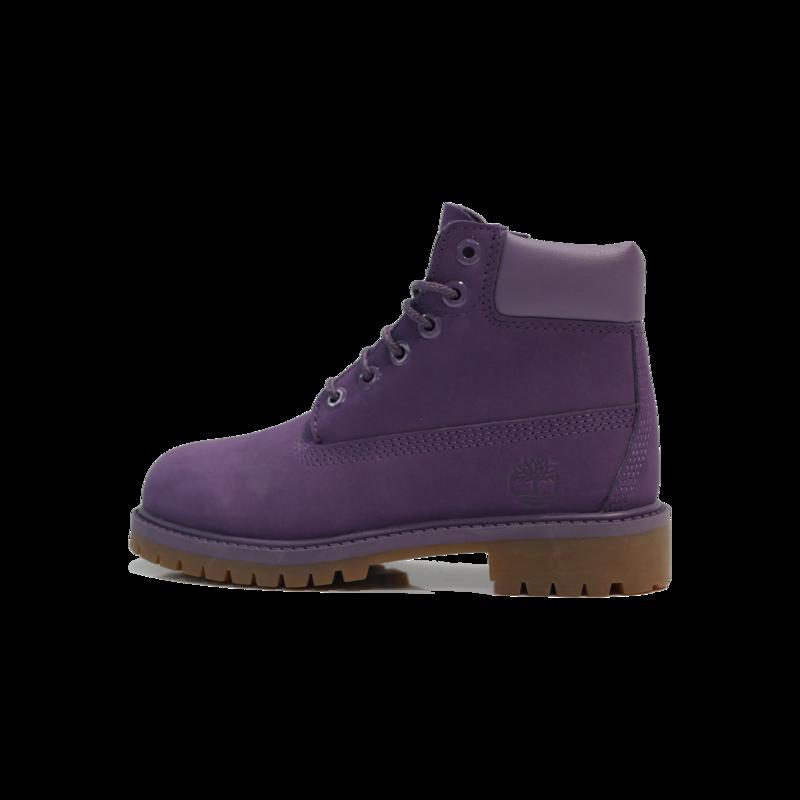 "TIMBERLAND Timberland 6"" Premium WP Boot Toddler- Purple - TB0A1OD3 H59"