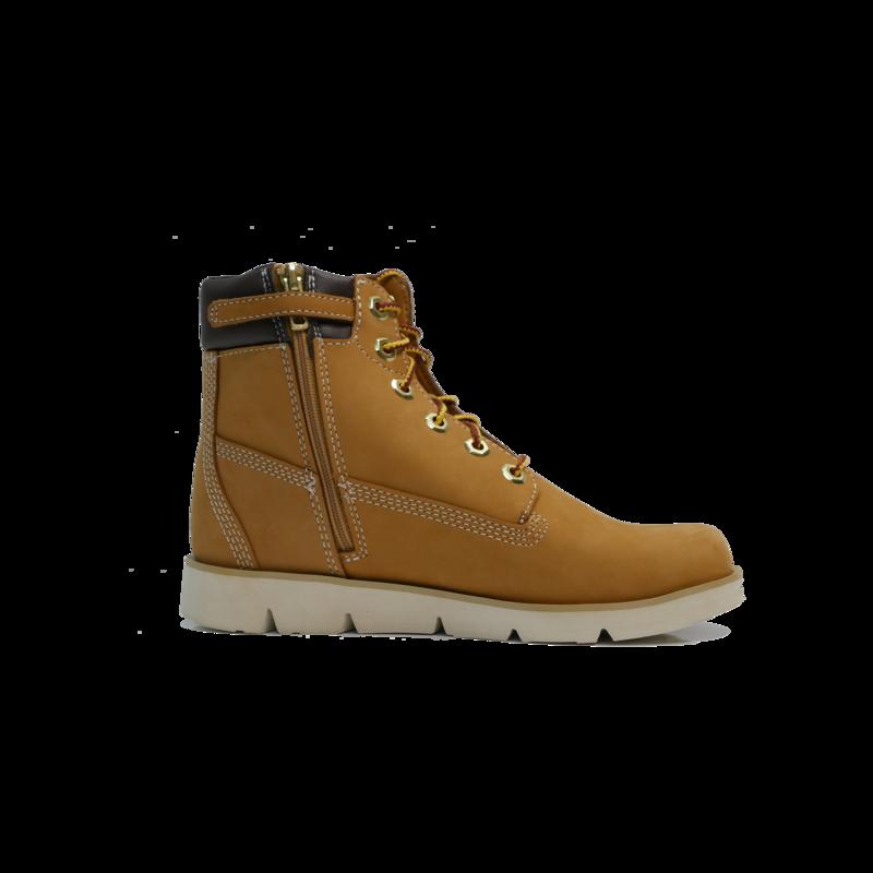 "TIMBERLAND Timberland Radford 6"" Side Zip Boot Gradeschool- Wheat Nubuck - TB0A1RBS 231"
