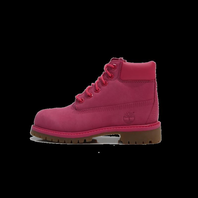 "TIMBERLAND Timberland 6"" Premium WP Boot  Preschool- Pink - TB0A1J8M H62"