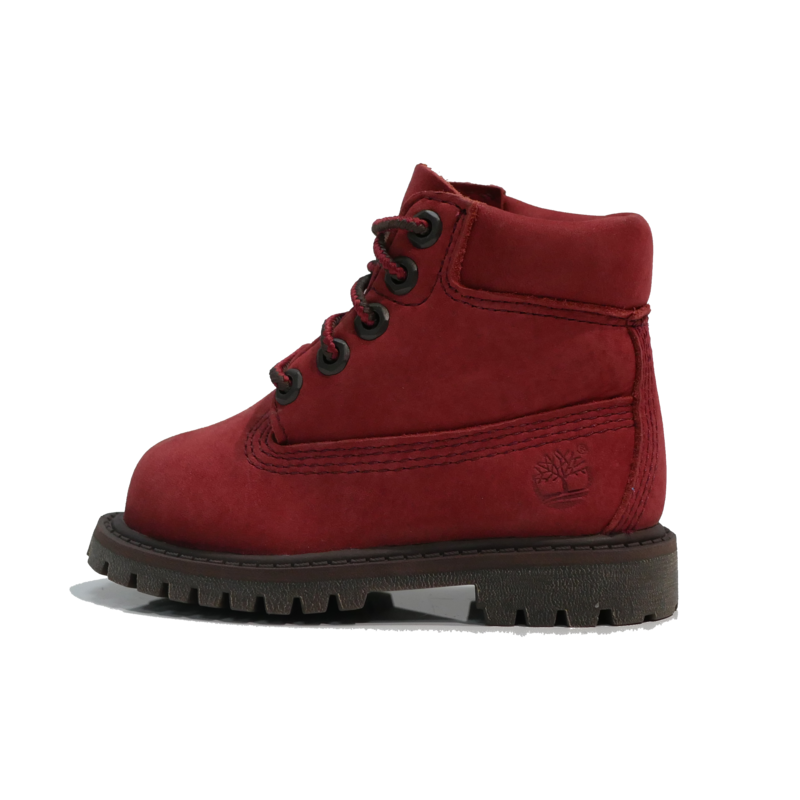"""TIMBERLAND Timberland 6"""" Premium WP Boot - Dark Red Nubuck - TB0A297B V15"""