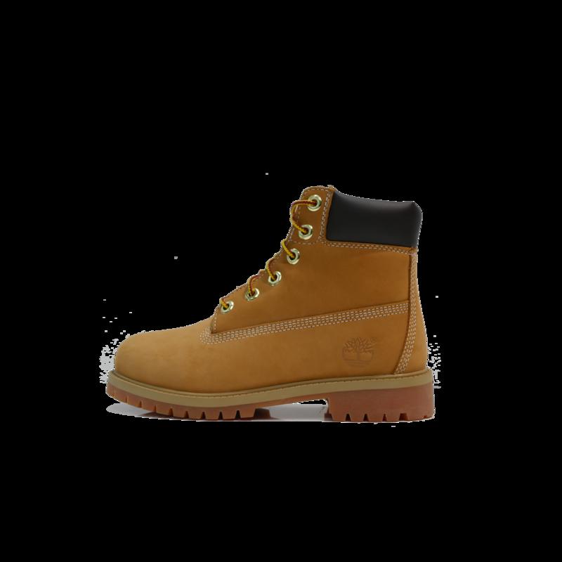 "TIMBERLAND Timberland 6"" Premium Boot Gradeschool- Wheat Nubuck -  TB012909 713"