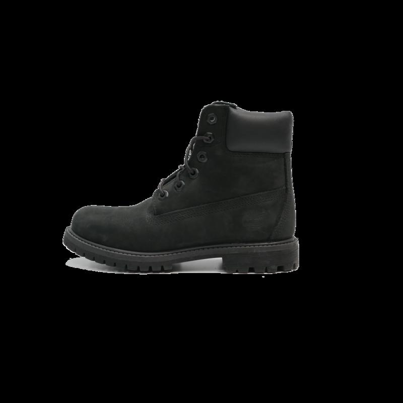 TIMBERLAND Timberland - Junior 6IN Premium Boot Black Nubuck TB012907 001