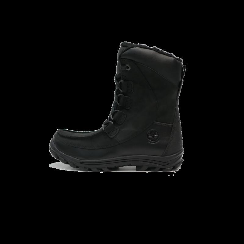 TIMBERLAND Timberland Chillberg WP Mid Boot GRADESCHOOL- Black Nubuck - TB0A137G 001