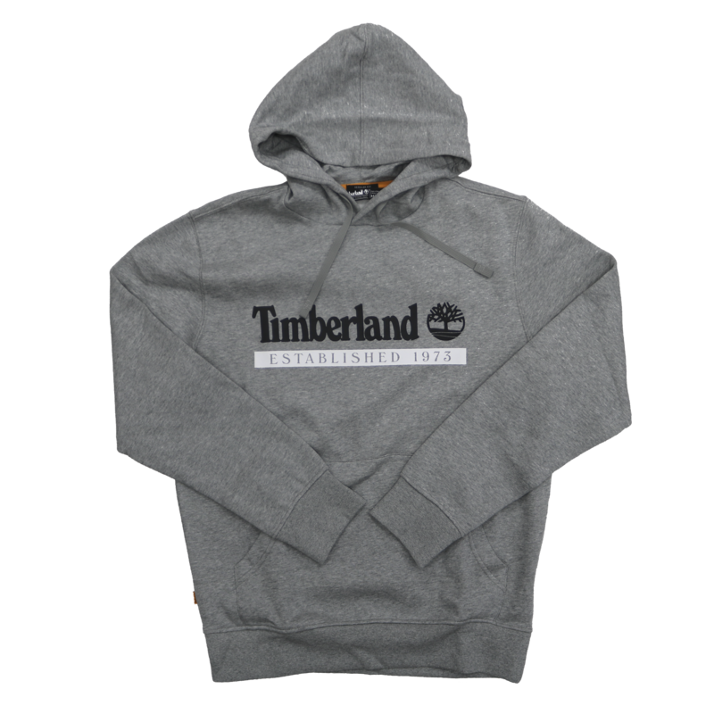 TIMBERLAND Timberland Classic Logo Grey Hoodie TB0A2AMS V91