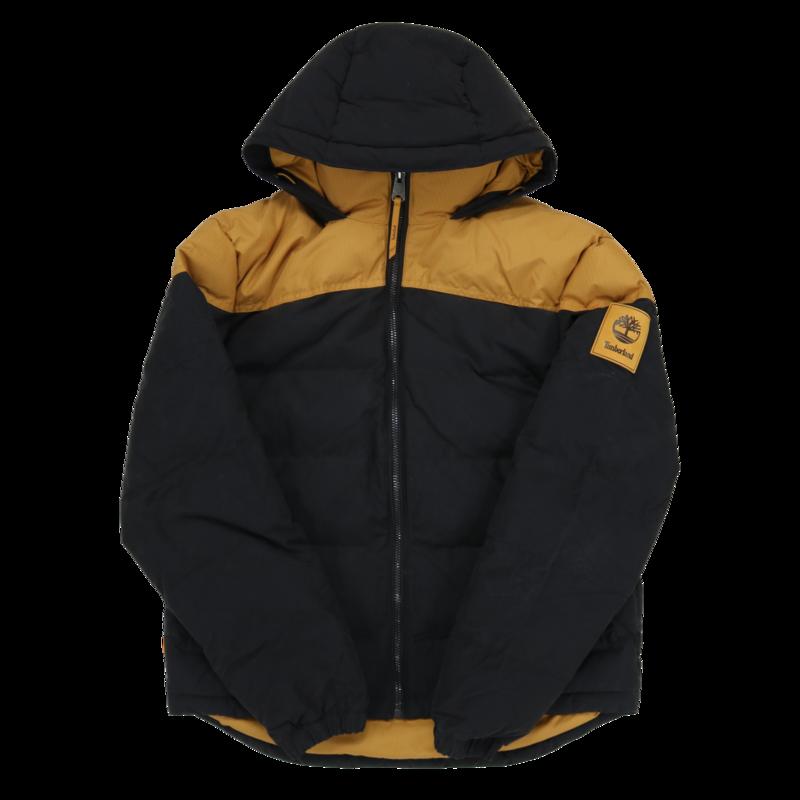 TIMBERLAND Timberland Men's Insulated Waterproof Winter Jacket Black/Beige TB0A2CVP P57