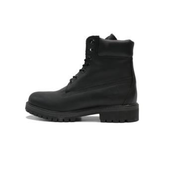 TIMBERLAND Timberland 6IN PREM Leather Blk  (TB0A1A6)