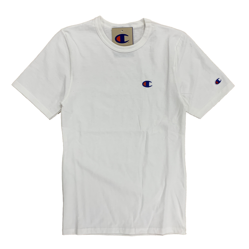 Champion Champion Men's Heritage Embroidered Tee White GT19