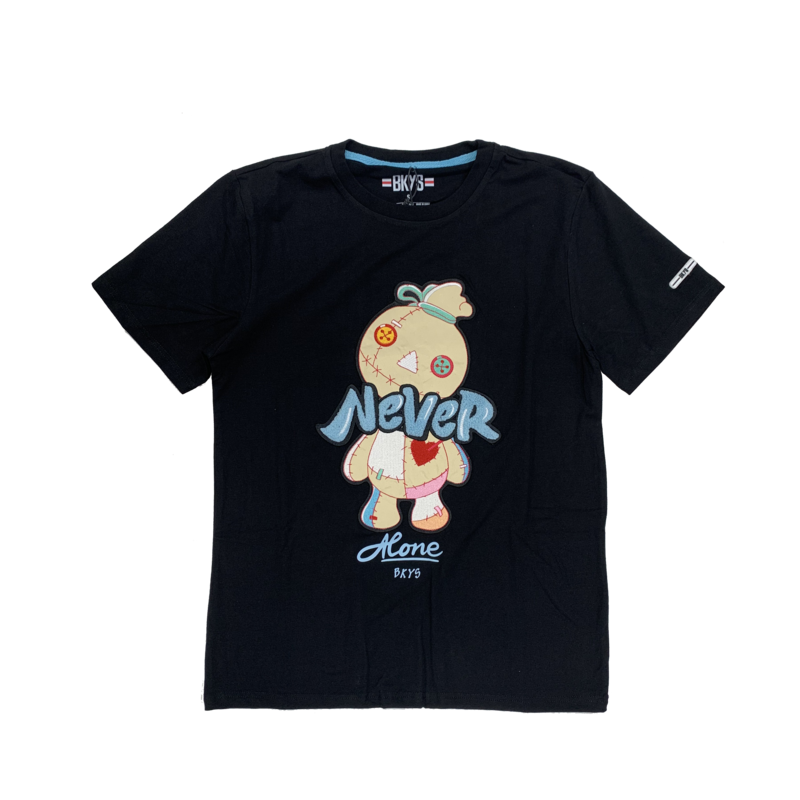 BKYS BKYS 'Doll' Never Embroidered Tee  Black