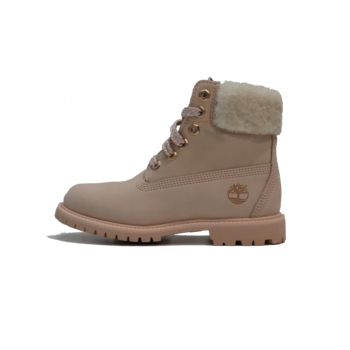 TIMBERLAND Timberland Wmn 6IN PREM SHEARLING LIGHT PINK CAMEO ROSE TB0A2322 662