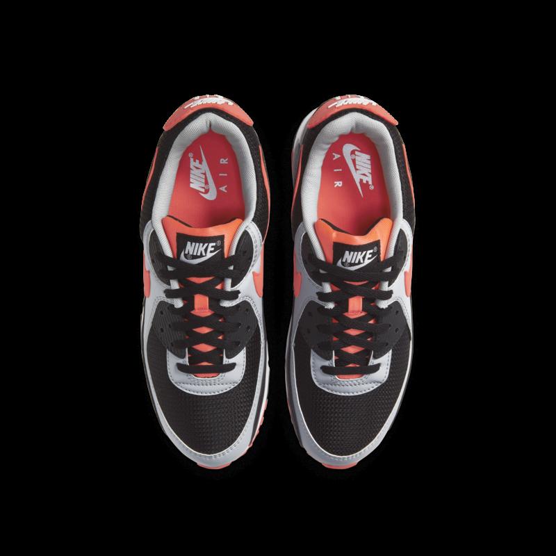 Nike Nike Men's Air Max 90 Black/Radiant Red-White CZ4222 001