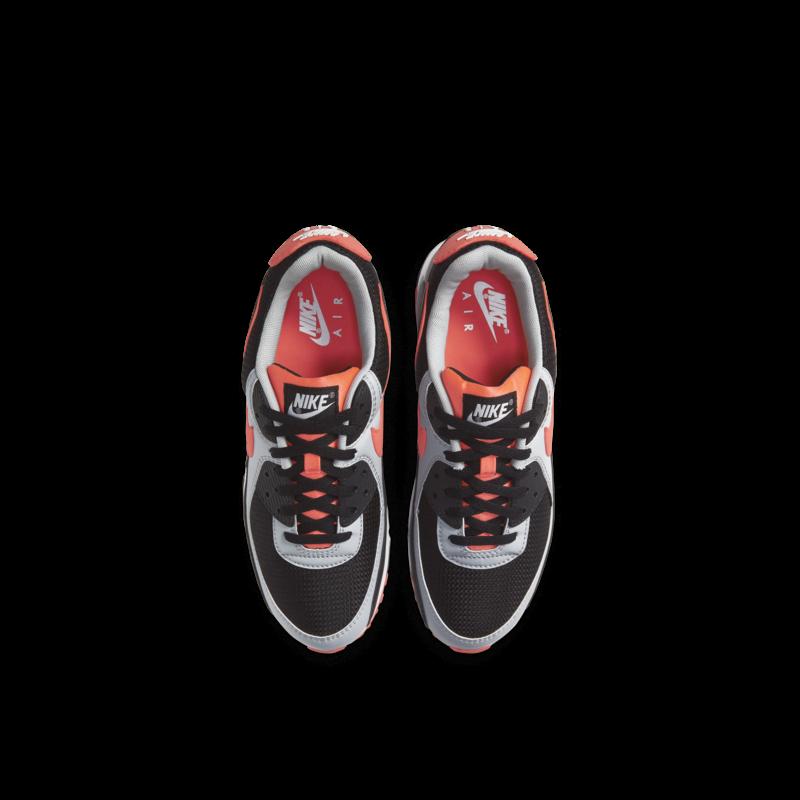 Nike Nike Air Max 90 LTR Black/Radiant Red-White GS CD6864 009
